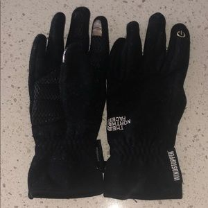 North Face technology gloves